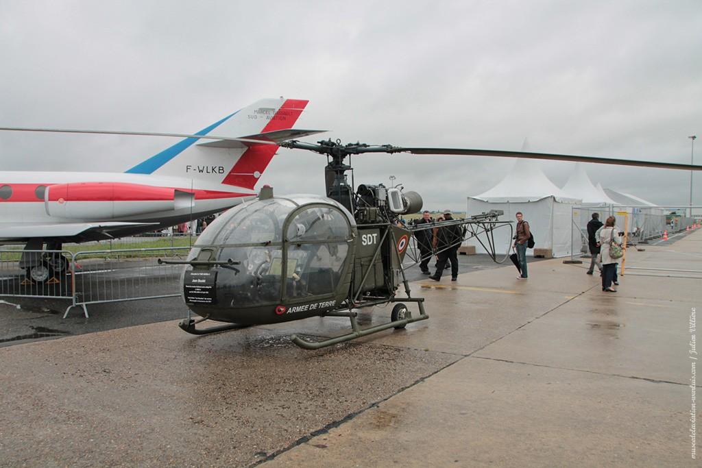 SE 313 B Alouette II n°1601 - Musée de l'Aviation de Warluis