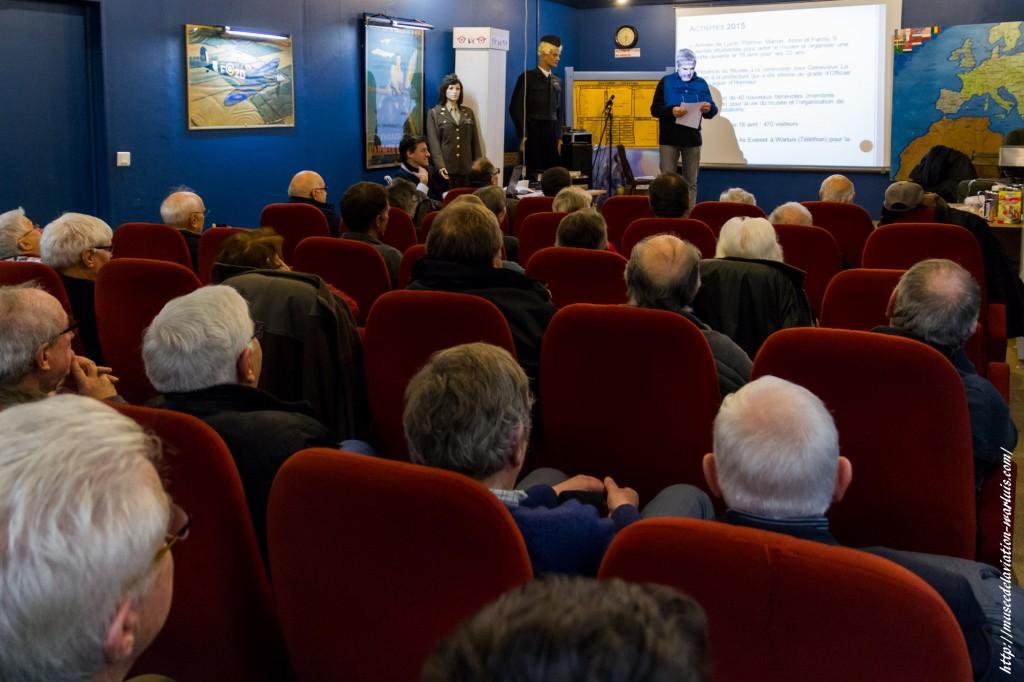 Assemblée Générale 2016 du Musée de Warluis