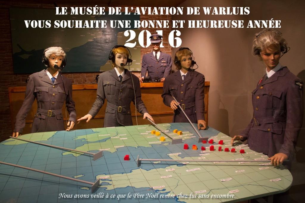 Musée de l'Aviation de Warluis voeux 2016