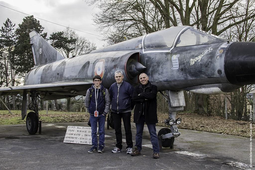 Mirage IIIE n°573 - Musée de l'Aviation de Warluis