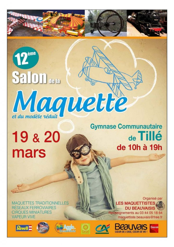 Salon de la maquette de till 2016 for Salon de la photo 2016