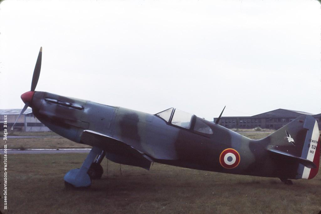 Dewoitine D 520 n°862 Luxeuil 0677 Musée de l'Aviation de Warluis