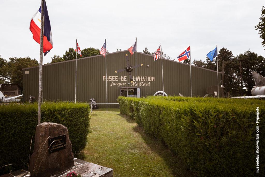 Entrée du Musée de l'Aviation de Warluis
